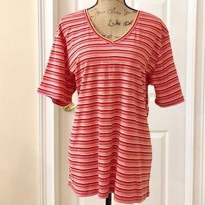 NWT St Johns Bay striped t shirt
